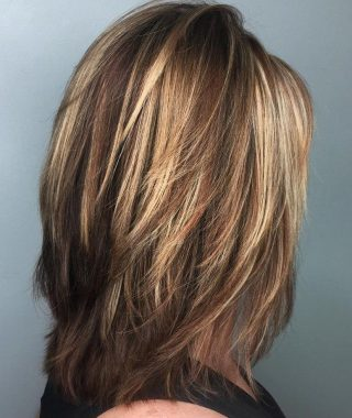 Fringy Layers Hairstyles With Dimensional Highlights