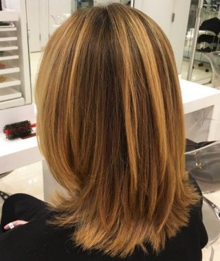 Shoulder Length Haircuts With Jagged Ends