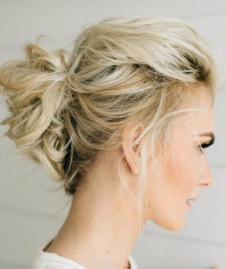 Wedding Hairstyles For Thin Mid Length Hair