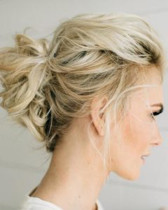 Wedding Hairstyles For Medium Length Thin Hair