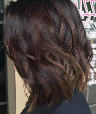 Piece-Y Haircuts With Subtle Balayage