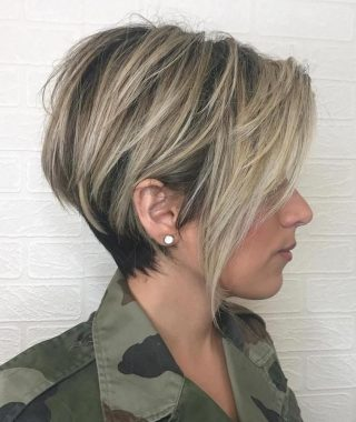 Balayage Pixie Haircuts With Tiered Layers
