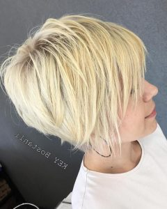 Finely Chopped Buttery Blonde Pixie Haircuts
