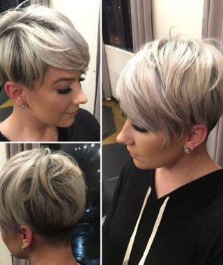 Sassy Undercut Pixie Hairstyles With Bangs