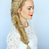 Micro Braids In Side Fishtail Braid (Photo 21 of 25)