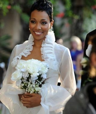Short Wedding Hairstyles For Black Bridesmaids