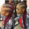 Colorful Cornrows Under Braid Hairstyles (Photo 7 of 25)