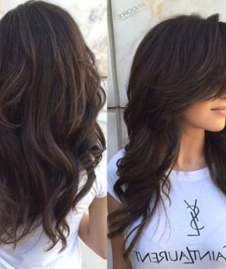 Long Layers Thick Hairstyles