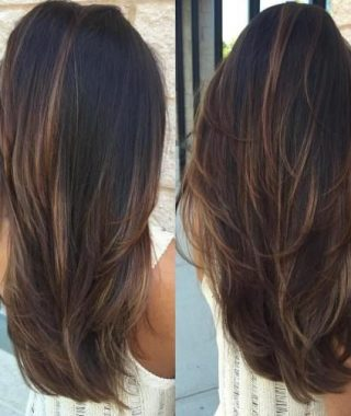 Light Layers Hairstyles Enhanced By Color