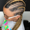 Thick And Thin Braided Hairstyles (Photo 8 of 25)