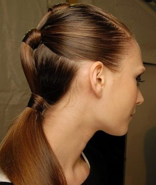 Ponytail Cascade Hairstyles