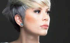Ashy Blonde Pixie Hairstyles With A Messy Touch