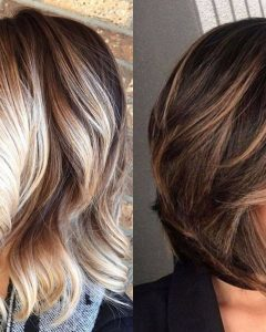 Shaggy Pixie Haircuts With Balayage Highlights