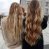 Beachy Waves Hairstyles With Blonde Highlights