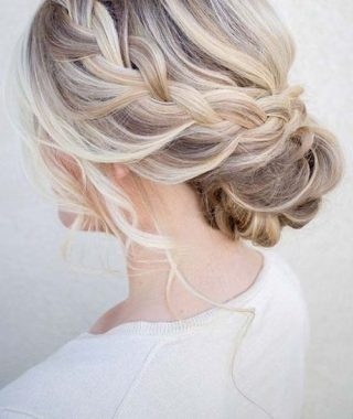 Beach Wedding Hair For Bridesmaids