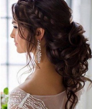 Long Hair Quinceanera Hairstyles