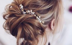 Messy Bridal Updo Bridal Hairstyles
