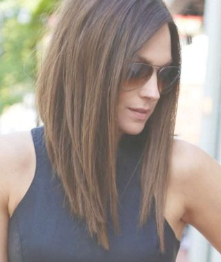 Medium To Long Bob Haircuts