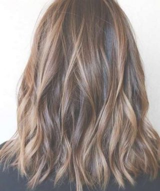Medium Hairstyles And Highlights