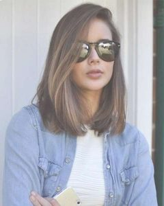 Medium Haircuts For Girls With Glasses