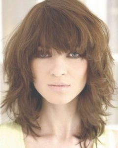 Medium Hairstyles For Women With Bangs