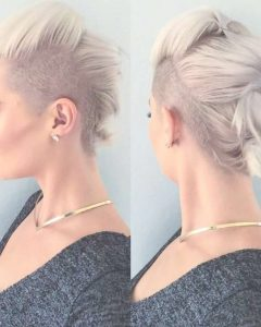 Medium Hairstyles With Both Sides Shaved