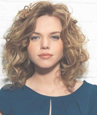 Curly Hair Medium Hairstyles