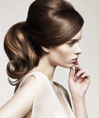 Lovely Bouffant Updo Hairstyles For Long Hair