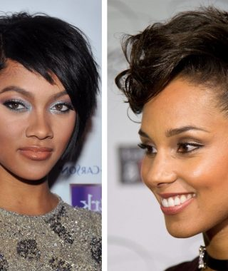 Black Short Hairstyles For Long Faces