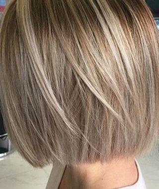 Blunt Bob Haircuts With Layers