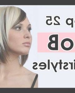 Bob Haircuts For Fine Hair And Round Faces
