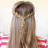French Braid Pull Back Hairstyles