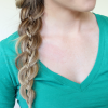 Three Strand Side Braid Hairstyles (Photo 9 of 25)