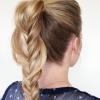 Fishtail Braid Pontyail Hairstyles (Photo 5 of 25)