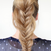 Ponytail Fishtail Braid Hairstyles (Photo 7 of 25)