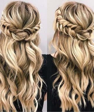 Braided Half-Up Hairstyles