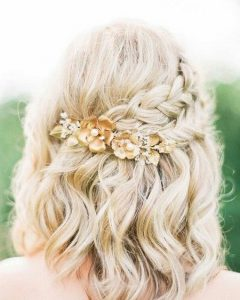Short And Sweet Hairstyles For Wedding