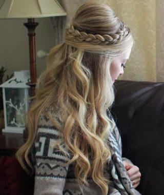 Braids And Bouffant Hairstyles