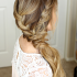 Side-Swept Braid Updo Hairstyles