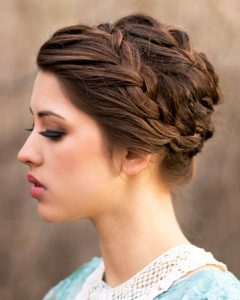 Up Braided Hairstyles