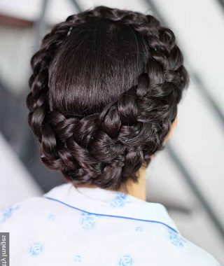 Wide Crown Braided Hairstyles With A Twist