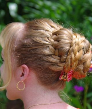 Braided Tower Mohawk Hairstyles