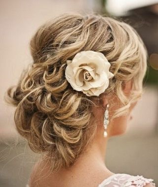 Upswept Hairstyles For Wedding