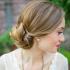 Low Bun Updo Wedding Hairstyles