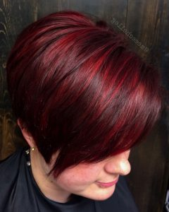Article Short Bob Hairstyles With Red Highlights