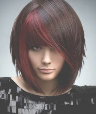 Bob Haircuts With Red Highlights