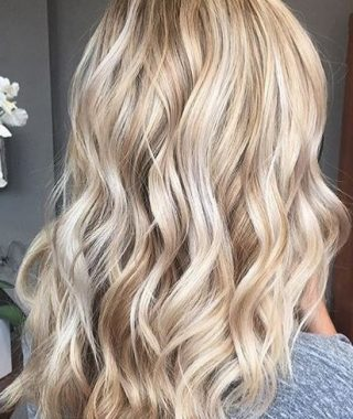 Buttery Highlights Blonde Hairstyles