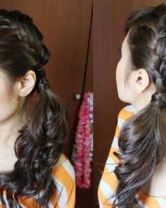 Side Ponytail Braided Hairstyles