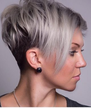 Short Haircuts Ideas For Round Faces