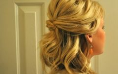 Half Hair Updos For Medium Length Hair